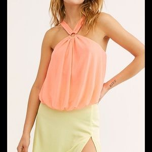 NWT Free People just a fling tank
